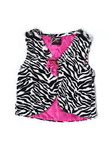 Real Love Faux Fur Vest Size 12 mo
