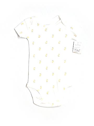 Carter's Short Sleeve Onesie Size 6 mo