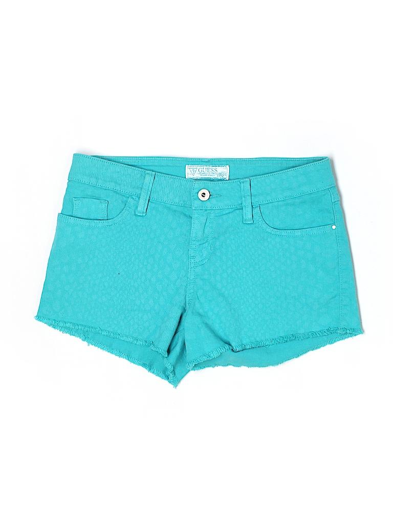 Guess Women Denim Shorts 27 Waist