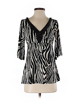 Boston Proper 3/4 Sleeve Blouse Size XS