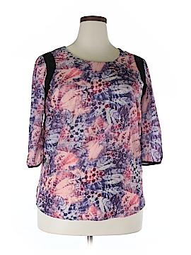 JunaRose 3/4 Sleeve Blouse Size 12