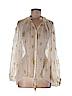 H&M Women Long Sleeve Silk Top Size 4