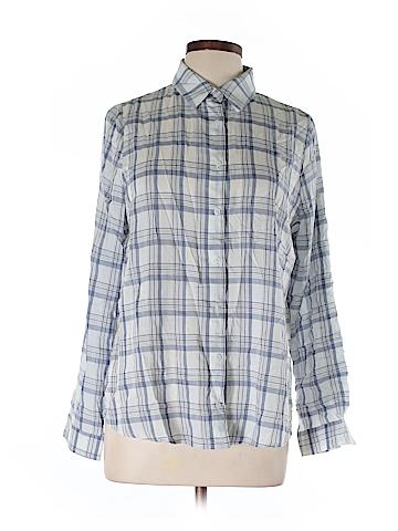 Lumiere Long Sleeve Button-Down Shirt Size L