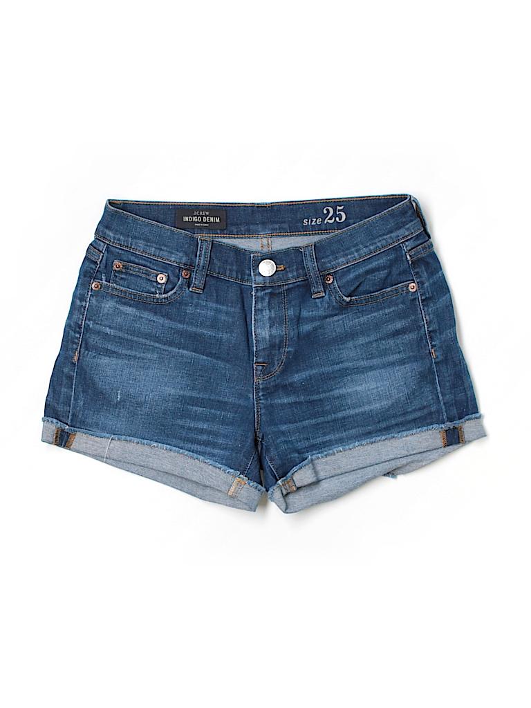 J. Crew Women Denim Shorts 25 Waist
