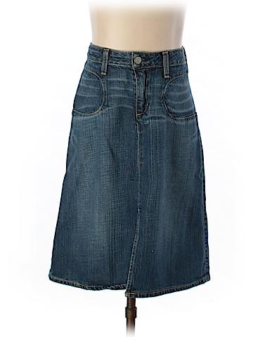 Paper Denim & Cloth Denim Skirt 23 Waist