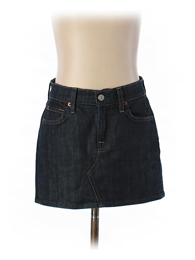 7 for all mankind denim skirt 92 only on thredup