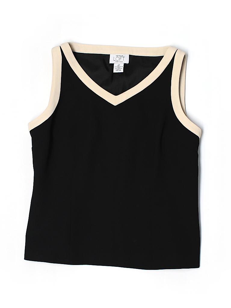 Ann Taylor LOFT Women Sleeveless Blouse Size 6 (Petite)