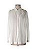 Ann Taylor LOFT Women Long Sleeve Button-Down Shirt Size L
