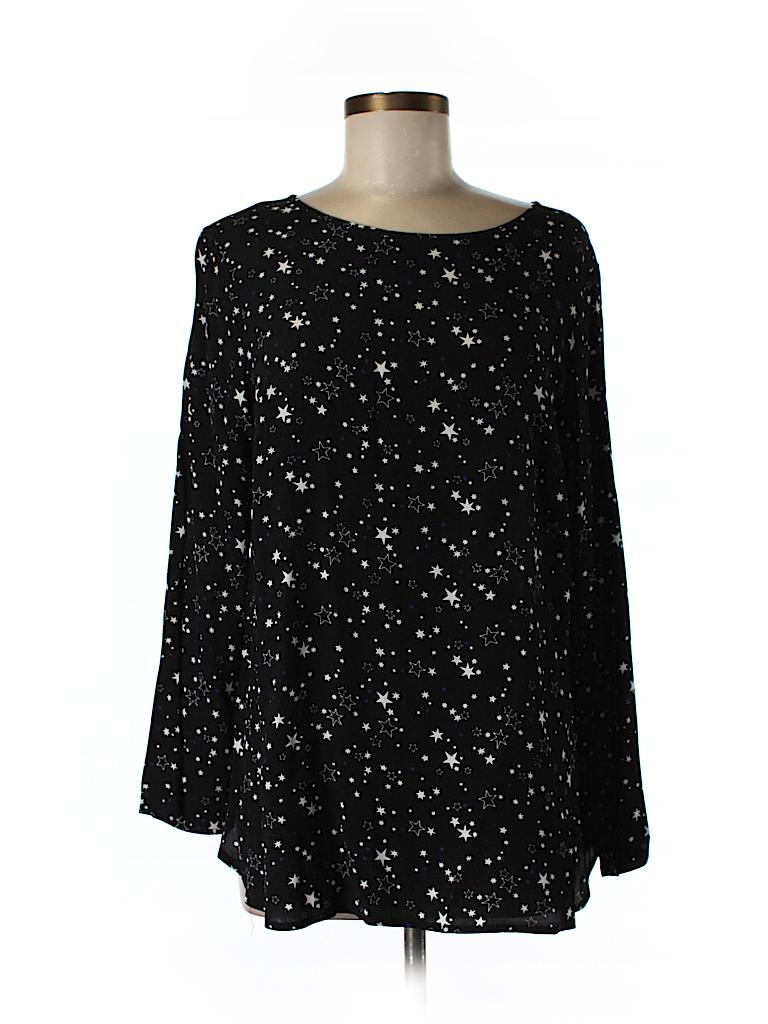 H&M Women Long Sleeve Blouse Size M