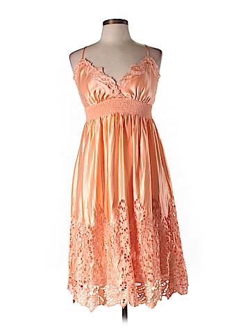 BCBGMAXAZRIA Silk Dress Size L