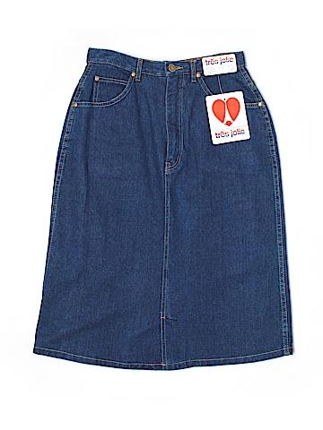 Tres Jolie Denim Skirt Size 7/8