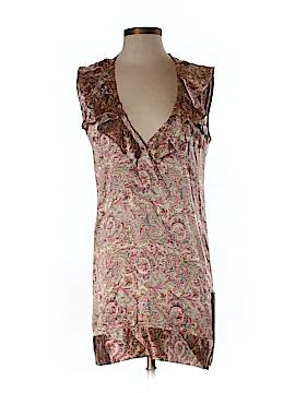 Karen Zambos Vintage Couture Silk Dress Size P