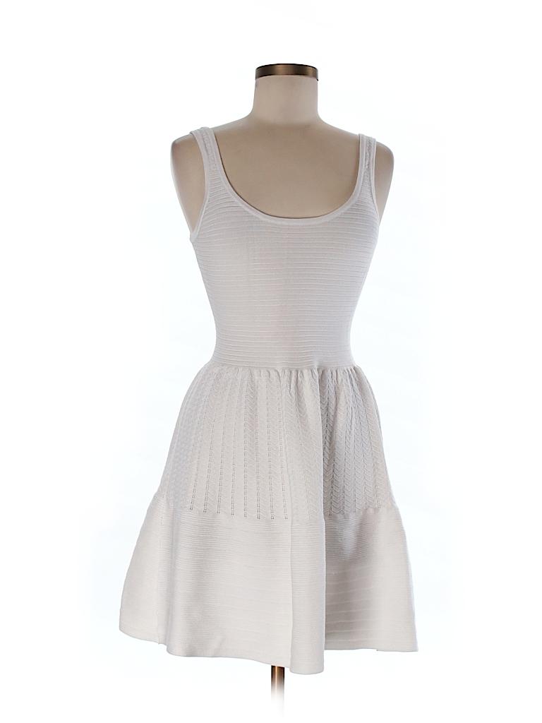 f68e9162551 Victoria s Secret Solid White Sweater Dress Size M - 72% off