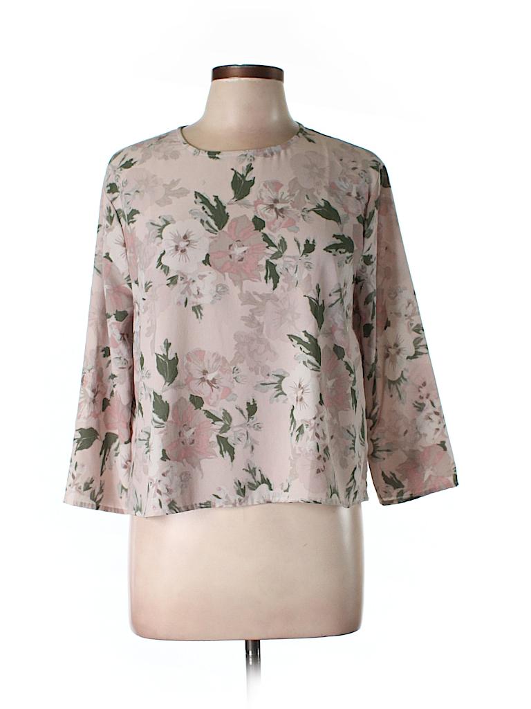 BB Dakota Women 3/4 Sleeve Blouse Size L