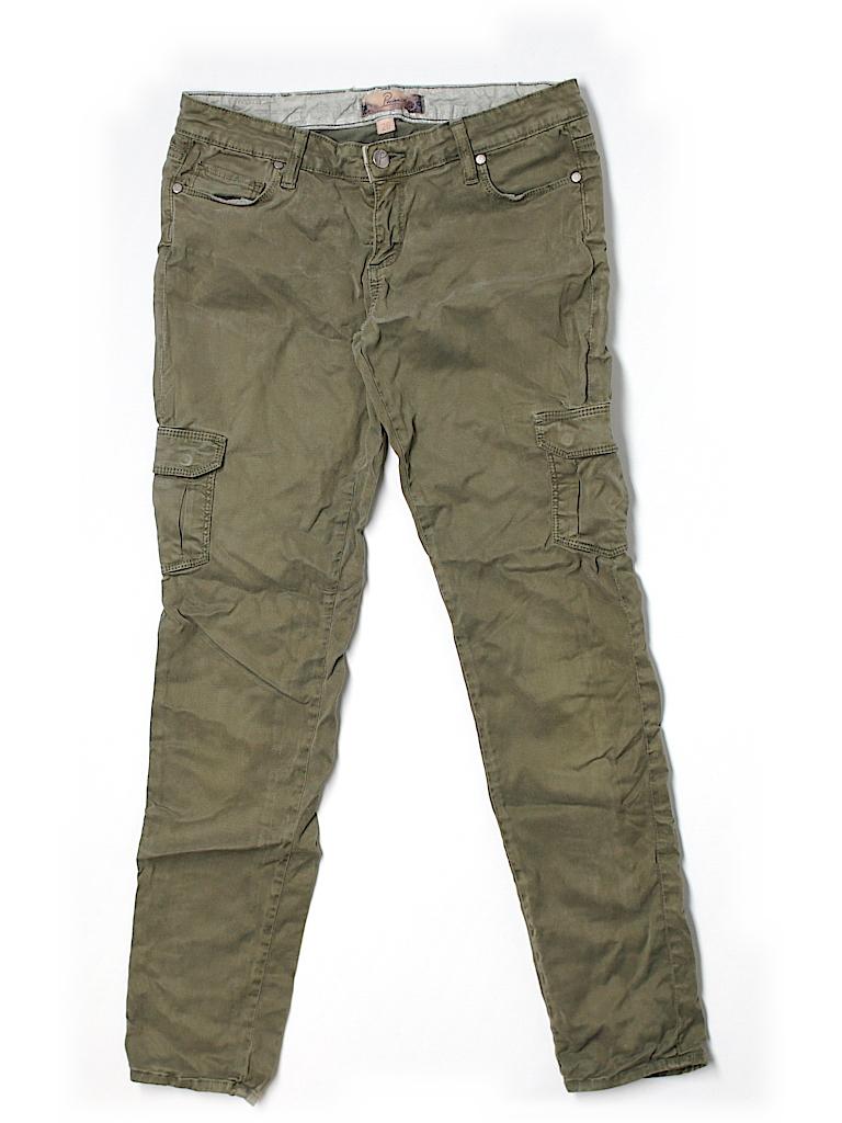 Paige Women Cargo Pants 26 Waist