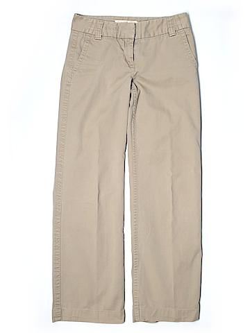 J. Crew Khakis Size 2 (Tall)