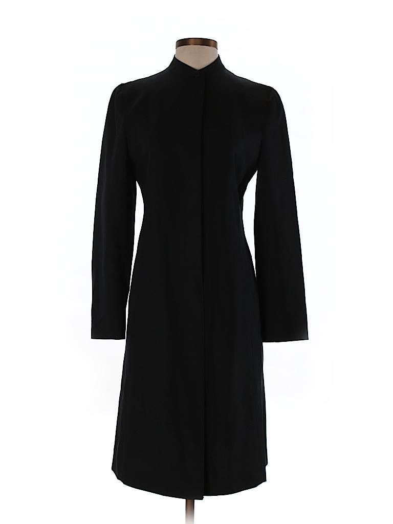 Emporio Armani Women Wool Coat Size 40 (IT)