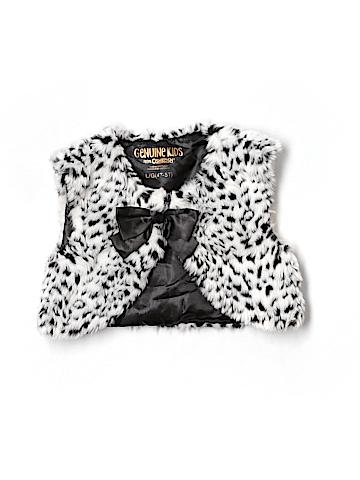Genuine Kids from Oshkosh Faux Fur Vest Size L (Youth)