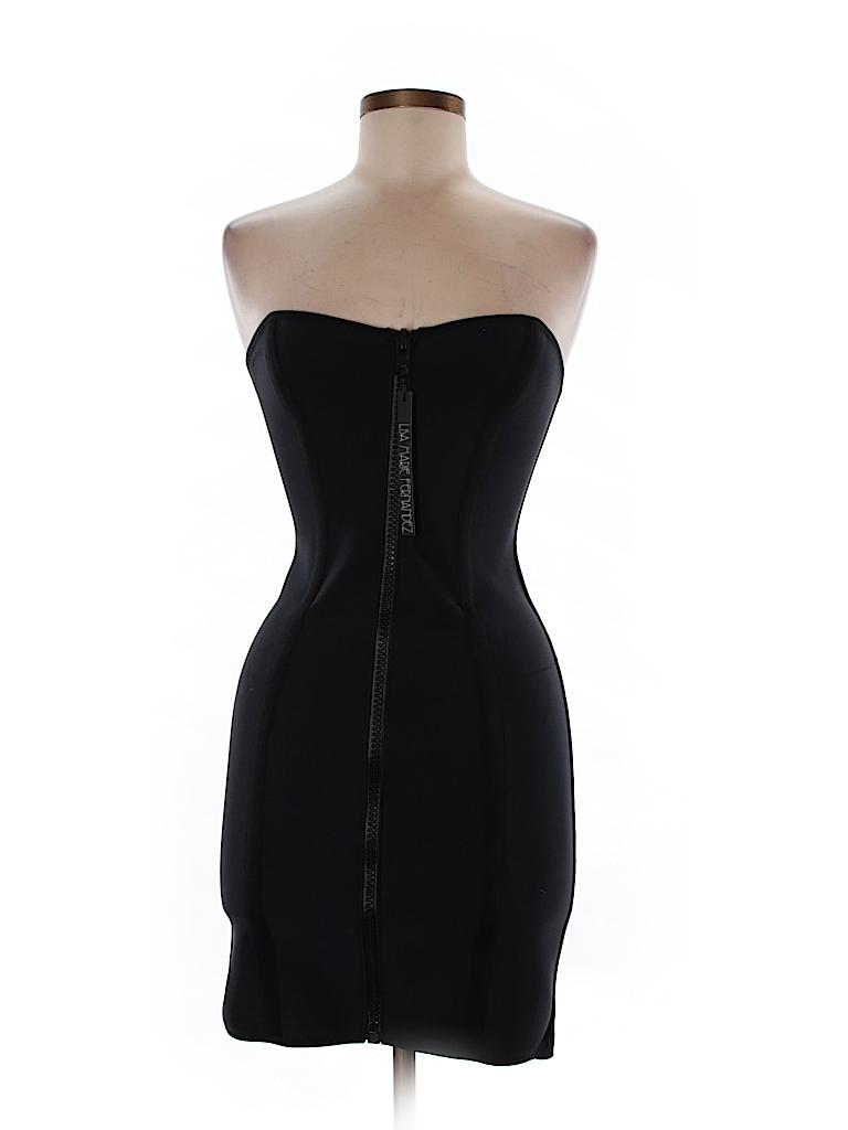 f76830e537d13 Saks Fifth Avenue Solid Dark Blue Cocktail Dress Size M - 96% off ...