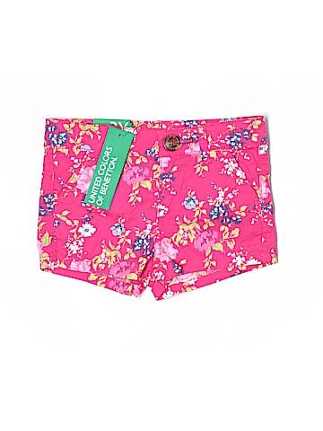 United Colors Of Benetton Khaki Shorts Size 2