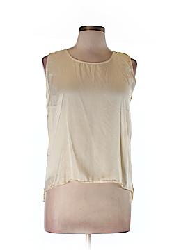 Barneys New York Sleeveless Silk Top Size L