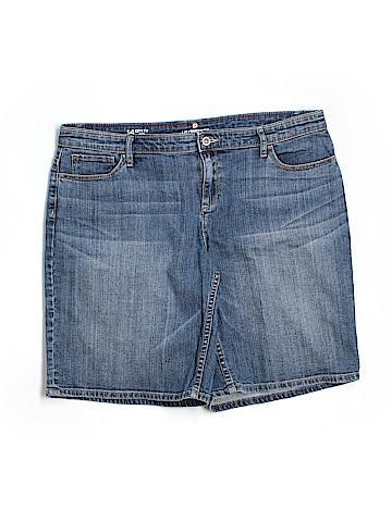 Liz Claiborne Denim Shorts Size 14