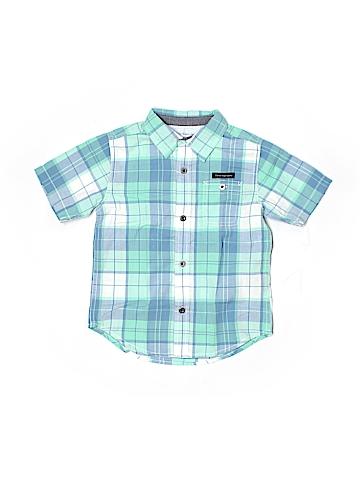 CALVIN KLEIN JEANS Short Sleeve Button-Down Shirt Size 3T