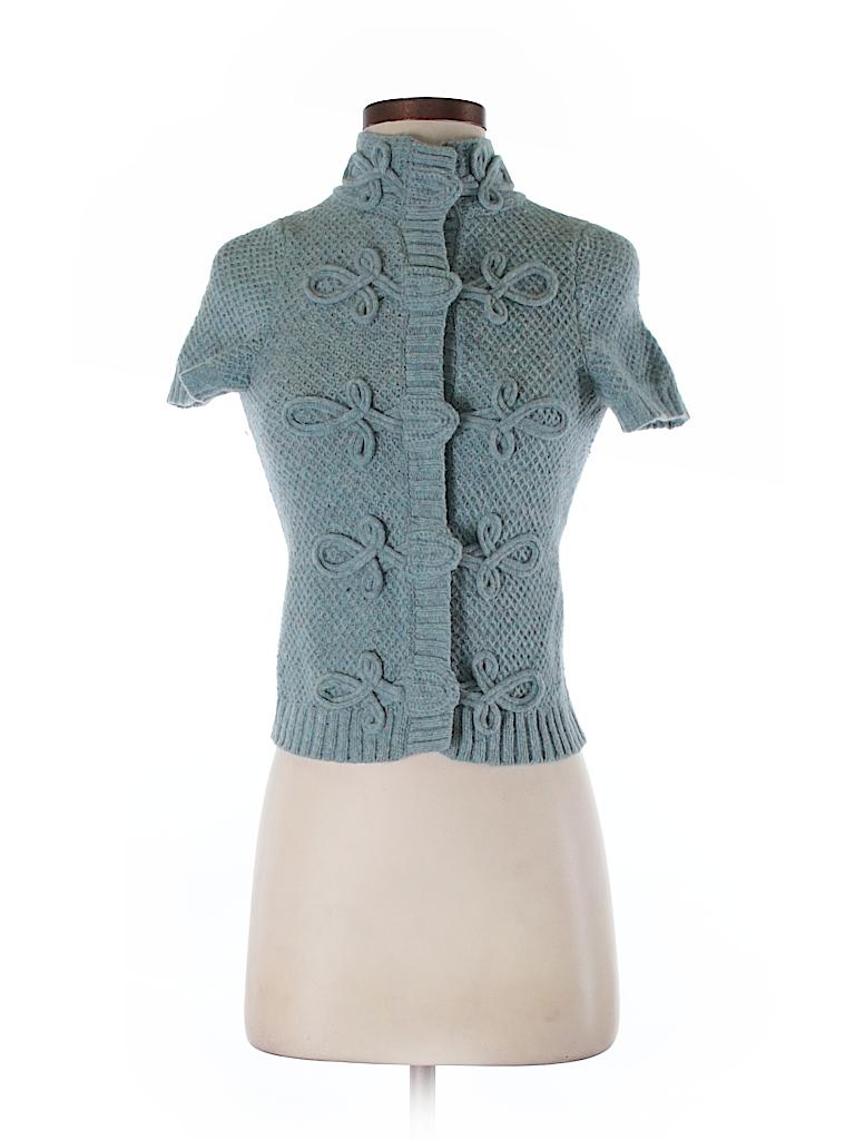 Charlie & Robin Women Wool Cardigan Size XS