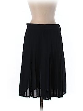 Valentino Miss V Silk Skirt Size 44 (IT)