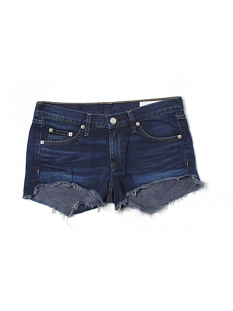Rag & Bone/JEAN Women Denim Shorts 25 Waist