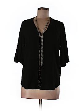 Maje 3/4 Sleeve Blouse Size Lg (3)