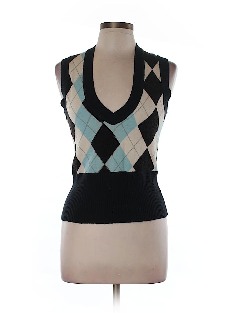 BCBGMAXAZRIA Women Sweater Vest Size L