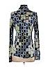 Tory Burch Women Long Sleeve Silk Top Size S