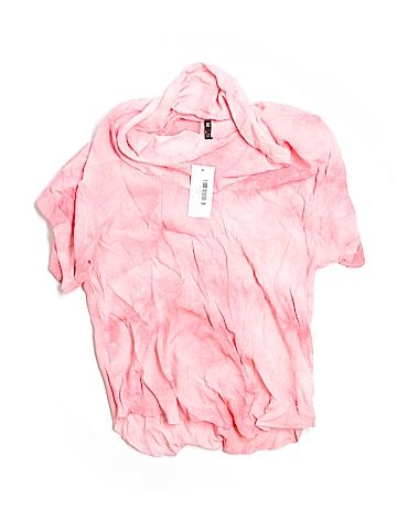 Vision Apparel Short Sleeve Blouse Size L