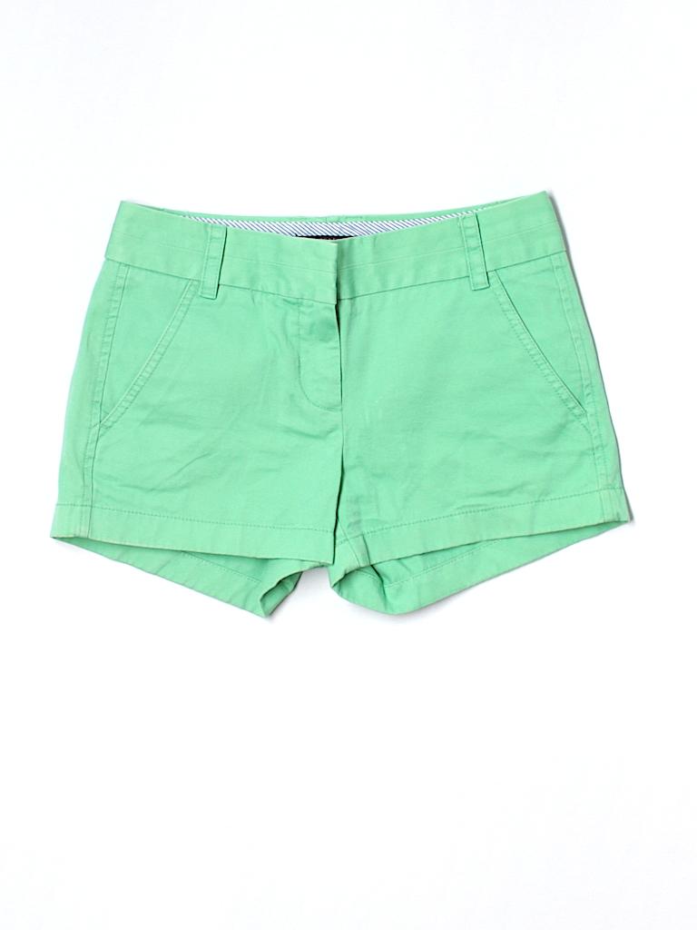 J. Crew Women Khaki Shorts Size 00