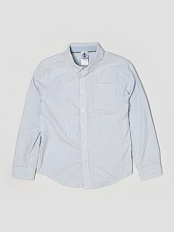 Gymboree Long Sleeve Button-Down Shirt Size 10-12