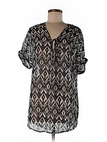 Emmelle Short Sleeve Blouse Size S/M