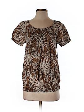 IZOD Short Sleeve Blouse Size S