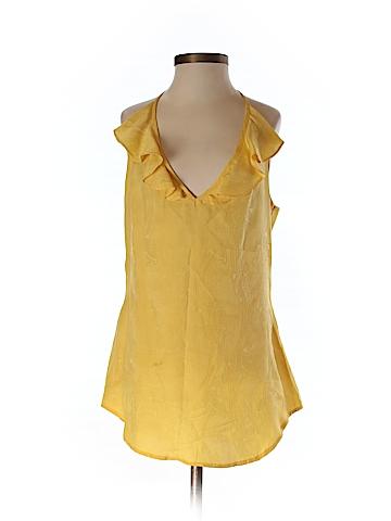 Twelfth Street by Cynthia Vincent Women Sleeveless Silk Top Size P