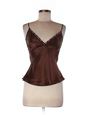 Julie Brown Women Sleeveless Silk Top Size P