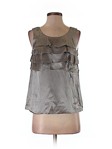 J. Crew Factory Store Women Sleeveless Silk Top Size 0