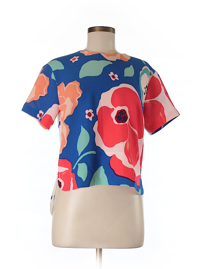 Kate Spade New York Women Short Sleeve Blouse Size 6