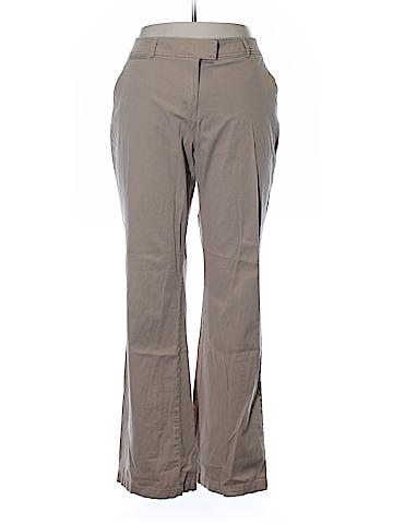 New York & Company Khakis Size 14 (Tall)