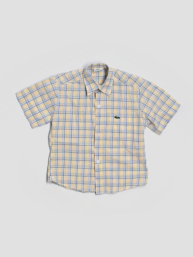 lacoste short sleeve button down shirt 86 off only on thredup. Black Bedroom Furniture Sets. Home Design Ideas