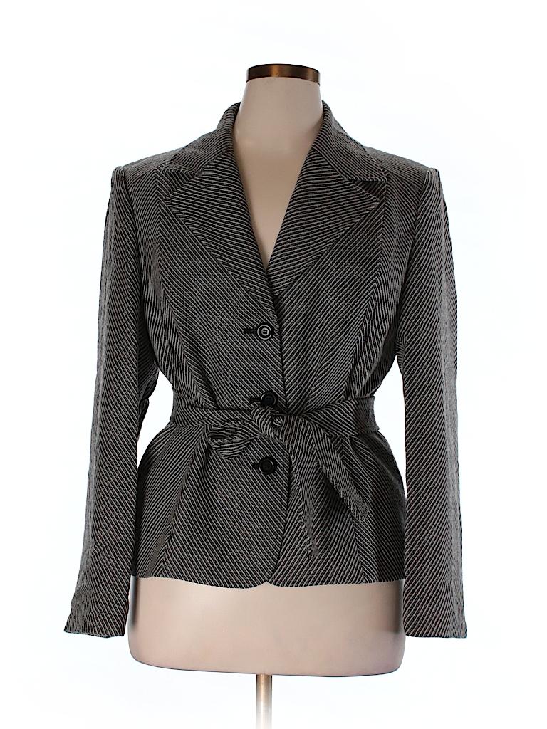 Talbots Women Wool Blazer Size 16