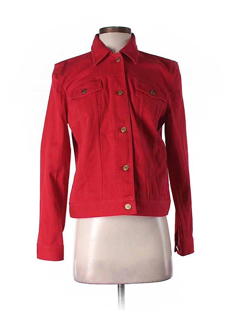Lauren Jeans Co. Women Denim Jacket Size M (Petite)