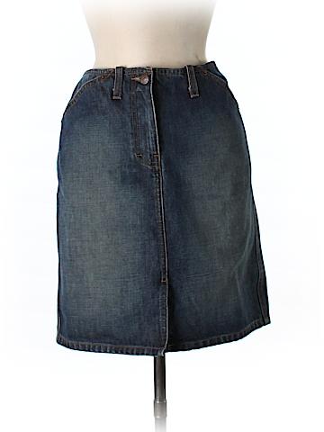 J. Crew Denim Skirt Size 8