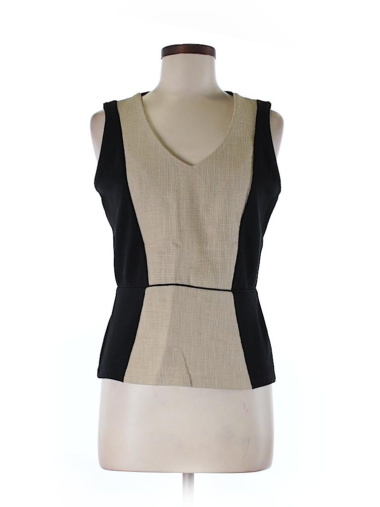 Ann Taylor Women Sleeveless Blouse Size M (Petite)
