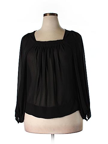 Vertigo Paris Long Sleeve Blouse Size XL