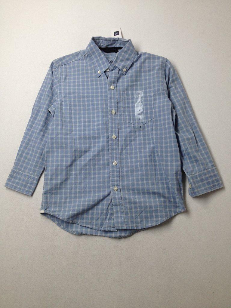 Gap Kids Boys Long Sleeve Button-Down Shirt Size 6